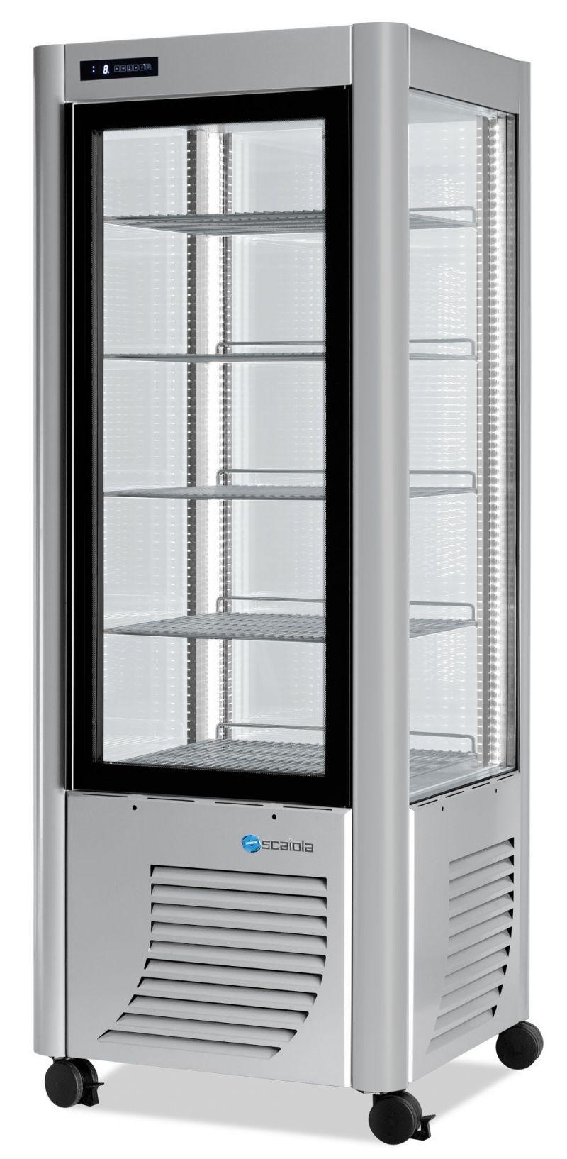 Vitrina refrigerata verticala fixa