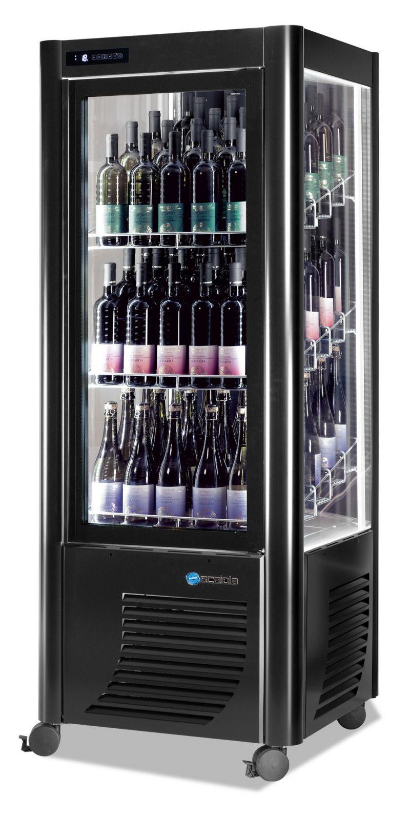 Vitrina refrigerata verticala expunere vinuri