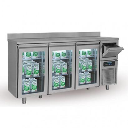 Masa rece | frigorifica bar pentru servire cafea 1580x600 mm