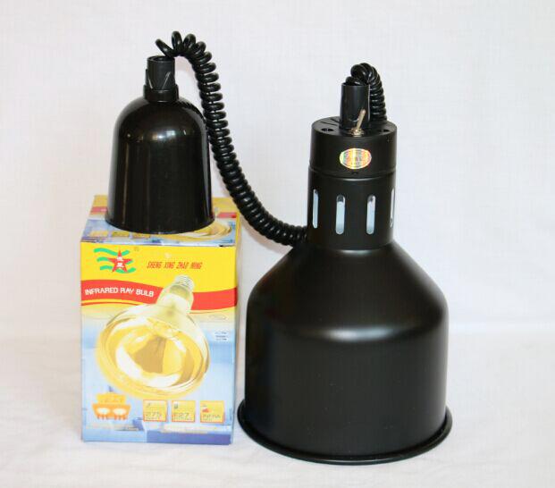 Lampa retractabila mentinere calda culoare neagra