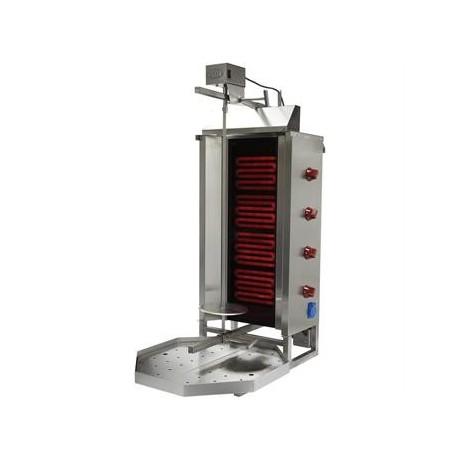 Aparat kebab | shaorma electric cu 4 rezistenta si motor sus - Ozti