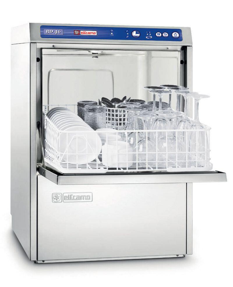 Masina profesionala de spalat pahare si farfurii suport - Elframo