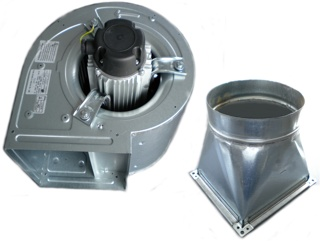 Motor hota- Ventilator centrifugal 0.35KW (2000 MC|H)