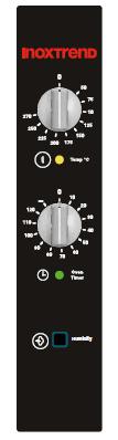 Cuptor Nice&Go electric, analog, 4 tavi GN 1/1 sau patiserie 600x400 mm