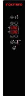 Cuptor Nice&Go pe gaz, cu programare, 7 tavi GN 1/1 sau patiserie 600x400 mm