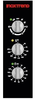Cuptor profesional LenghtWise electric Combi, analog, 20 tavi GN 2/1