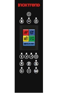 Cuptor profesional LenghtWise pe gaz Combi, touch screen, 20 tavi GN 2/1