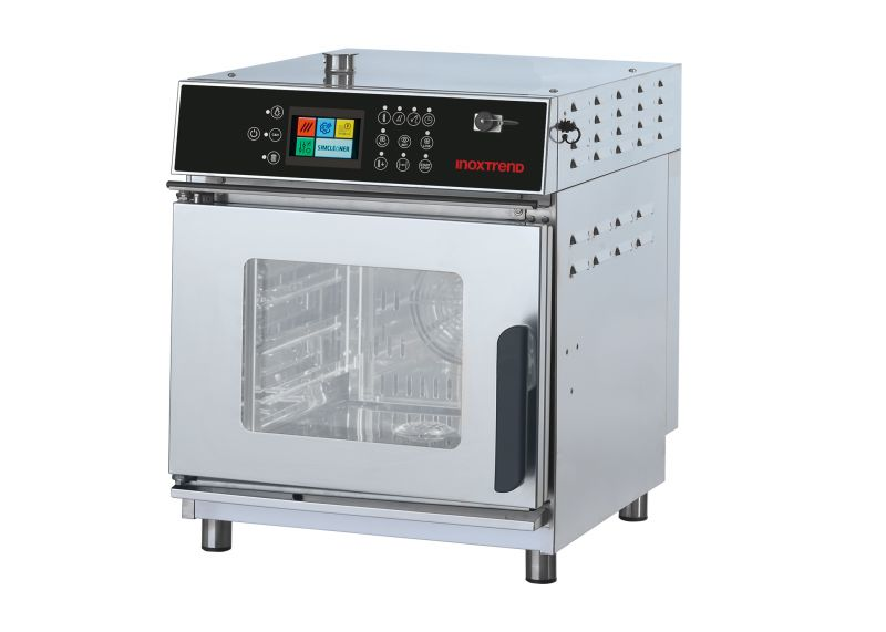 Cuptor profesional Compact51 electric Combi, touch screen, 4 tavi GN 1/1