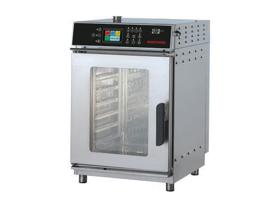 Cuptor profesional Compact51 electric Combi, touch screen, 11 tavi GN 1/1