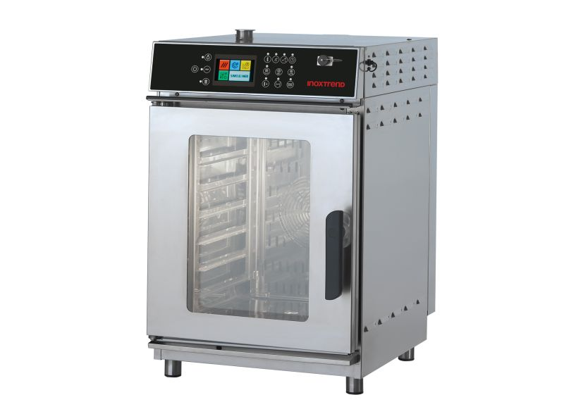 Cuptor profesional Compact51 electric Combi, touch screen, 7 tavi GN 2/3