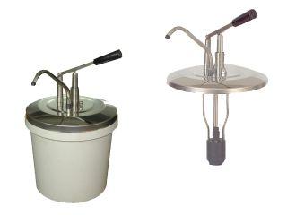 Pompa inox dispenser - capacitati mari