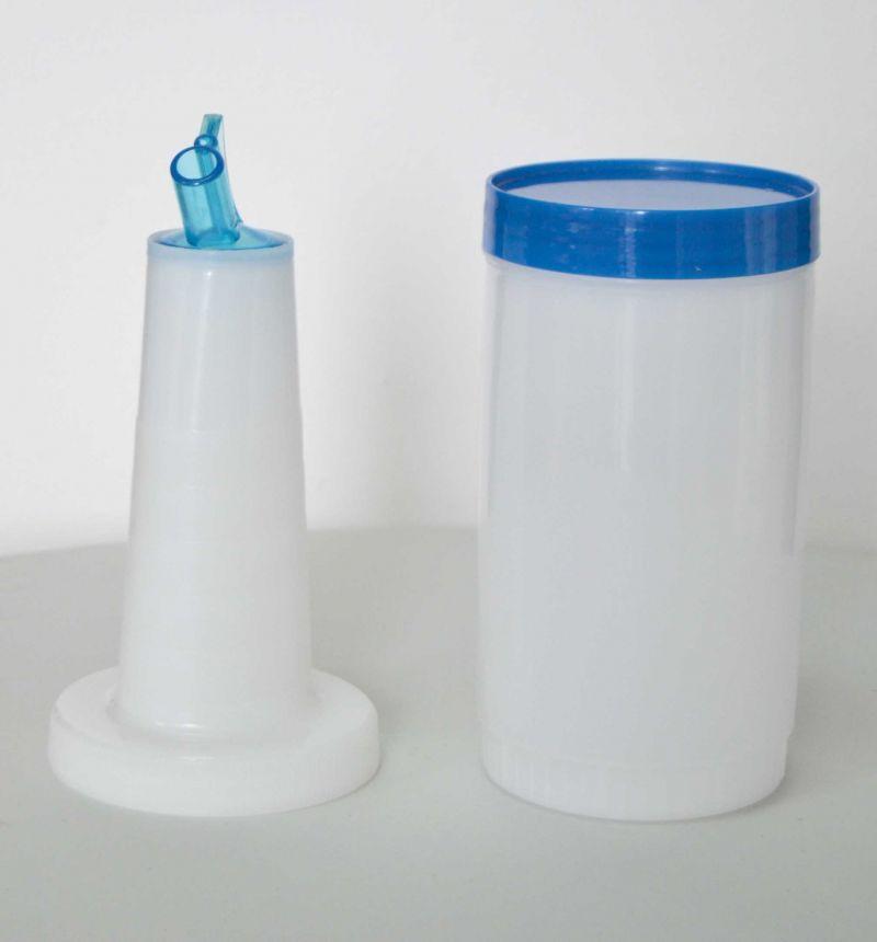 Pourer - picurator albastru | recipient mixare