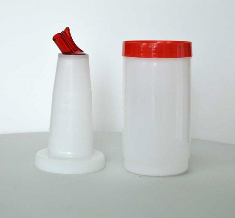 Pourer - picurator rosu | recipient mixare