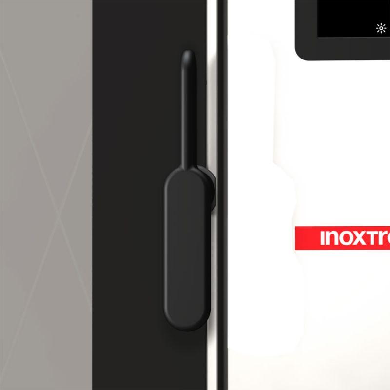 Cuptor profesional CrossWise pe gaz Combi, touch screen, 12 tavi GN 1/1 sau patiserie 600x400 mm