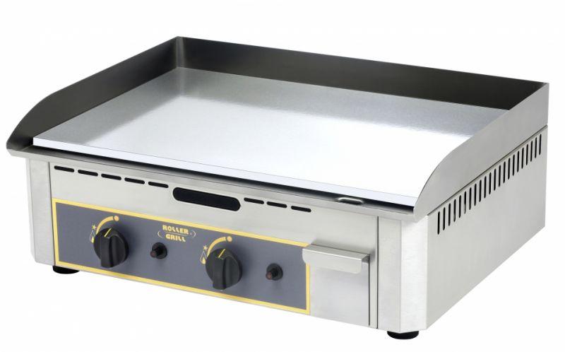 Grill | Gratar electric dublu cu placa de frigere cromata