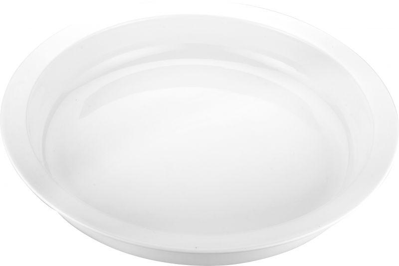 Tava rotunda ceramica potrivita si pentru chafing dish