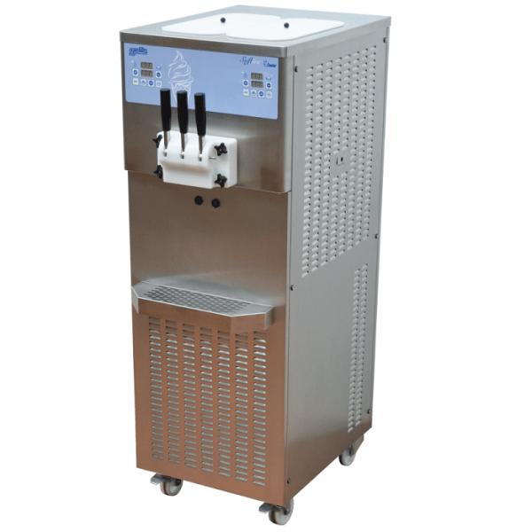 Masina pentru  inghetata soft cu o aroma-productie pana la 19 l / ora