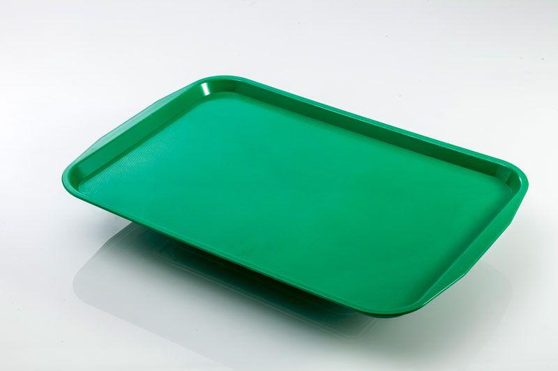 Tava autoservire 360x460 mm verde