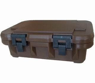 Container izoterm | Termobox 200 negru | Cutie termica transport