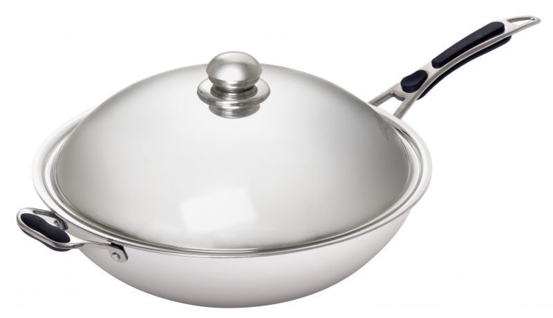 Tigaie tip wok pentru inductie