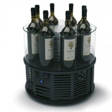 Vitrina frigorifica expunere vinuri ALEGRIA, 8 sticle fara led