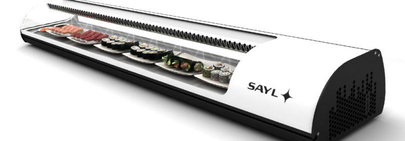Vitrina sushi standard 2140 mm