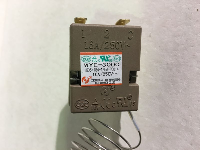 Termostat lucru grill electric WG