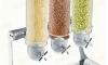 Dispenser| Dozator  cereale triplu 3 x 4 litri