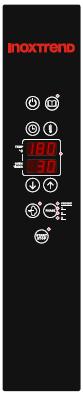 Cuptor Nice&Go electric, cu programare, 4 tavi GN 1/1 sau patiserie 600x400 mm