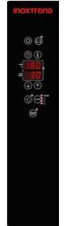 Cuptor Nice&Go pe gaz, cu programare, 5 tavi GN 1/1 sau patiserie 600x400 mm