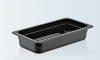 Tava gastronorm | GN 1/3-65 MM neagra policarbonat