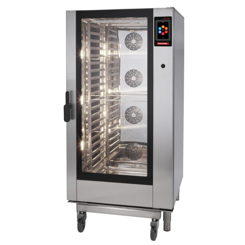 Cuptor profesional CrossWise electric Combi, touch screen, 20 tavi GN 1/1