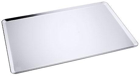 Tava aluminiu patiserie 600x400x10 mm, grosime 1.2