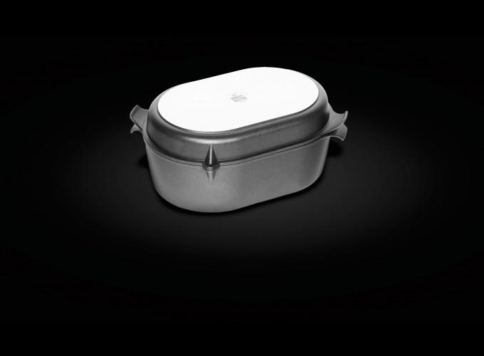 Tava ovala pentru cuptor antiaderenta AMT GASTROGUSS ( GERMANIA) 32x22x11 cm