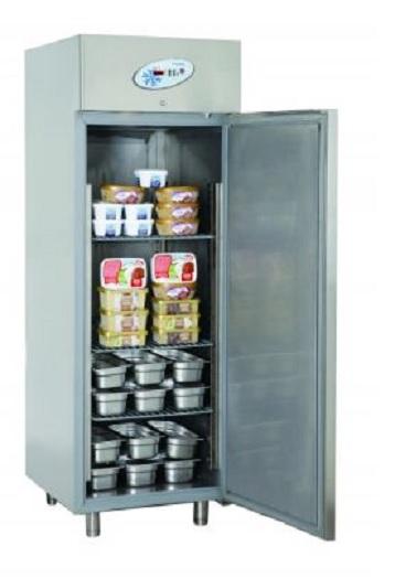 Dulap congelare simplu monobloc | Congelator profesional inox 700 lt FRENOX