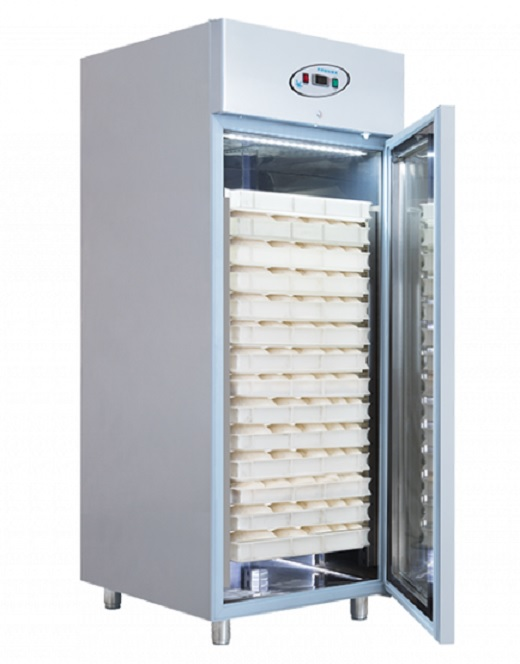 Dulap frigorific patiserie  simplu pentru carucior | Frigider inox patiserie 700 lt