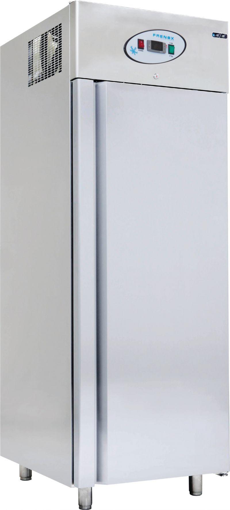 Dulap frigorific  patiserie simplu cu usa din sticla   Frigider inox patiserie 700 lt